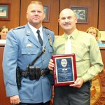 Chief Paprota and Retired Officer Brignola 11-14-13