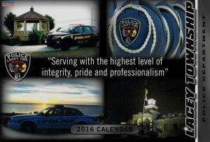 Cop Card Calendar 2016