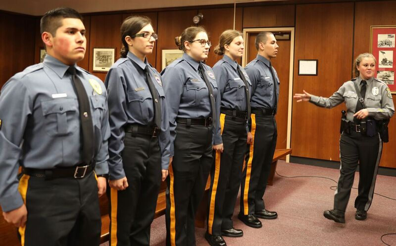 an introduction to the law enforcement and police explorers Police explorers program about the for young men and women who are interested in careers in the field of law enforcement, police exploring offers experiential.